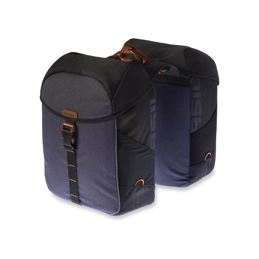 99c023b7940 Basil Miles Double Bag black slate